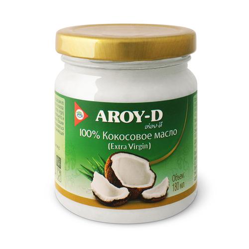 Кокосовое масло extra virgin AROY-D 180мл. 8851613003269 купить в Красноярске в наличии