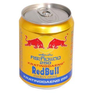 Red Bull Original Gold Energy Krating Daeng Drink Купить в Красноярске, доставка по всей России 8850228000151