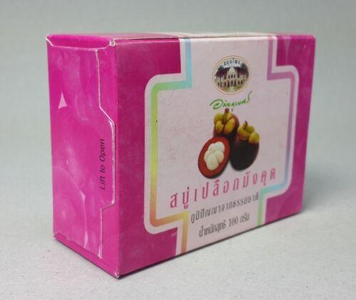 Купить с доставкой мыло Противовоспалительное мыло с кожурой мангустина Abhai 100гр. 8855539004188