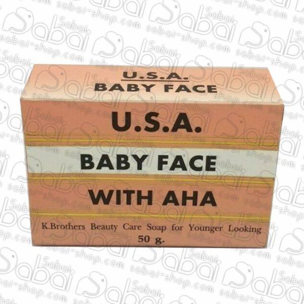 Омолаживающее мыло с АНА кислотами от K.BROTHERS, Baby Face Soap With AHA 8853252009992 купить с доставкой по России тайские товары