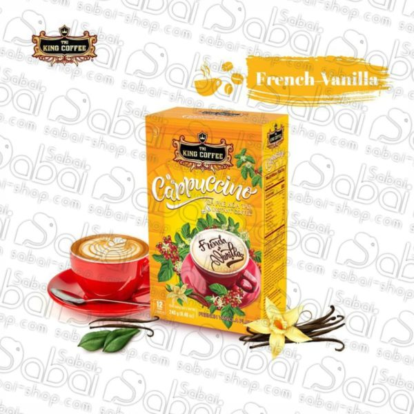 Вьетнамский кофе растворимый Cappuccino French Vanilla Flavor, коробка 12саше*20гр
