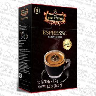 Купить Кофе черный растворимый Espresso (KING Coffee Instant) 6шт, 15шт. Красноярск вьетнамский кофе 6шт - 8935259092730 15шт - 8935259090200